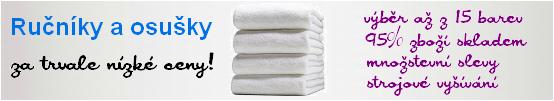 ručníky a osušky - velkoobchod a maloobchod